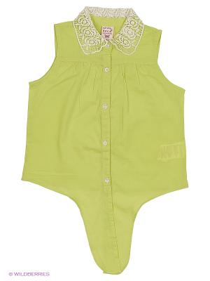 Блузка SELA. Цвет: светло-зеленый