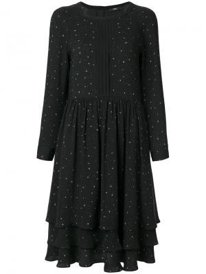 Расклешенное платье Steffen Schraut. Цвет: чёрный