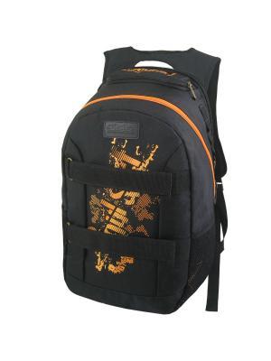 Рюкзак Stelz. Цвет: оранжевый, черный