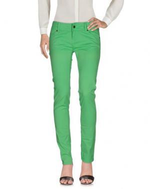 Повседневные брюки PAUL FRANK. Цвет: зеленый
