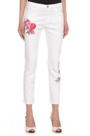 Джинсы Vdp jeans. Цвет: белый