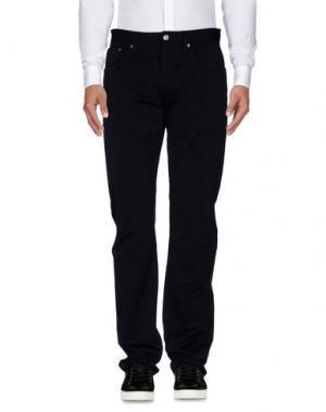 Повседневные брюки TEN C. Цвет: темно-синий