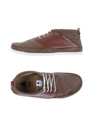 Обувь на шнурках VOLTA. Цвет: темно-коричневый