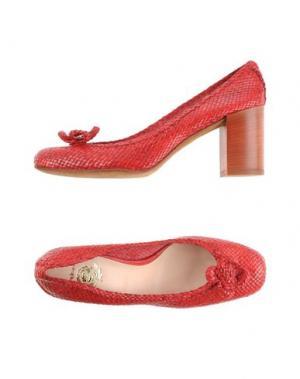 Туфли MALÌPARMI. Цвет: красный