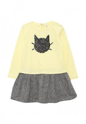 Платье Coccodrillo. Цвет: желтый