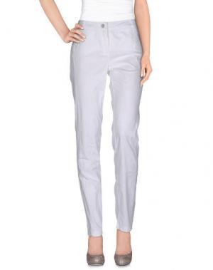Повседневные брюки DIDIER PARAKIAN. Цвет: белый
