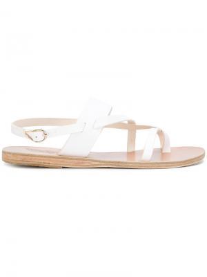 Сандалии Alethea Ancient Greek Sandals. Цвет: белый
