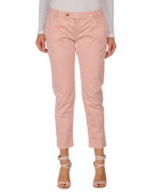 Повседневные брюки TRUE TRADITION. Цвет: розовый
