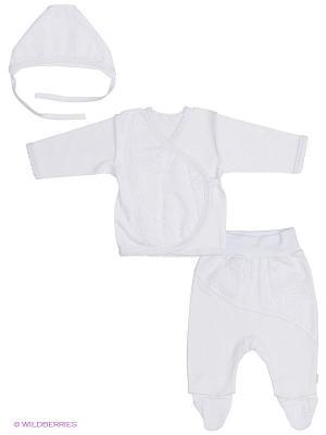 Комплект одежды Лео. Цвет: белый
