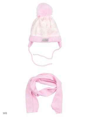 Комплект Grans. Цвет: бледно-розовый, молочный