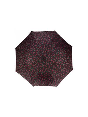 Зонт Isotoner. Цвет: черный, красный