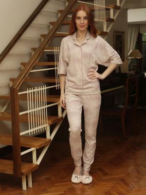 Домашний костюм HAYS. Цвет: серый