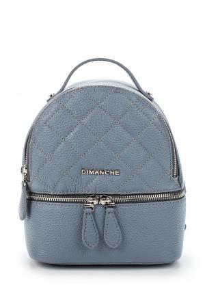 Рюкзак Dimanche. Цвет: голубой