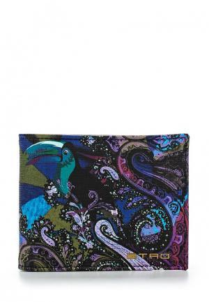 Кошелек Etro. Цвет: разноцветный