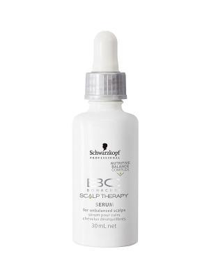 Сыворотка для чувствительной кожи головы Bonacure Scalp Therapy Sensitive Scalp, 30 мл Schwarzkopf Professional. Цвет: прозрачный
