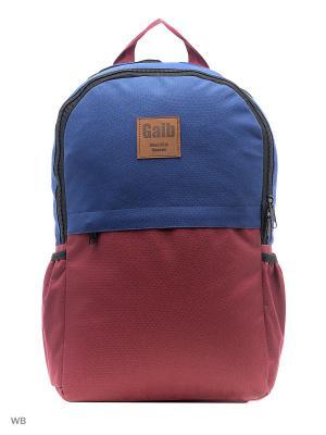 Рюкзак Gaib. Цвет: синий, бордовый