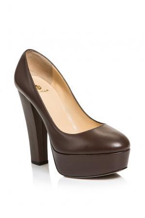 Туфли AF-186376 Semilla. Цвет: коричневый