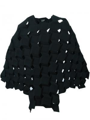 Платье с геометрическим кроем Junya Watanabe Comme Des Garçons. Цвет: чёрный