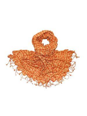 Платок Ethnica. Цвет: бежевый, оранжевый