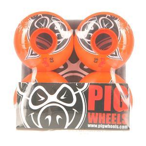 Колеса для скейтборда  Head Orange 100A 53 mm Pig. Цвет: оранжевый