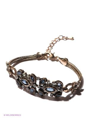 Браслет Lovely Jewelry. Цвет: золотистый, синий