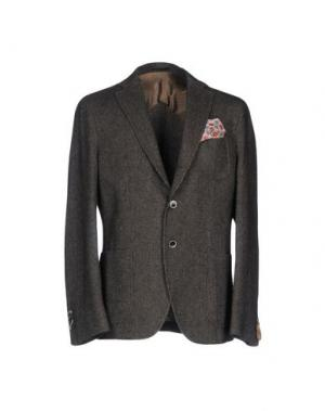 Пиджак PAOLONI. Цвет: темно-коричневый