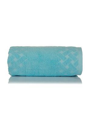 Полотенце махровое МОТИВ цв. голубой  70х140 TOALLA. Цвет: голубой