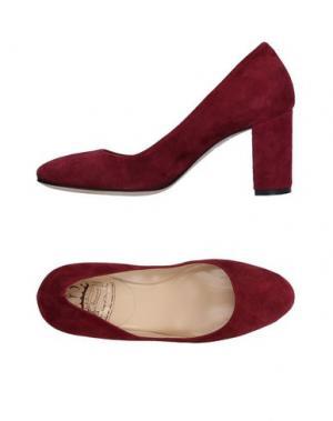 Туфли L'ARIANNA. Цвет: красно-коричневый