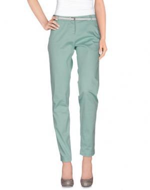 Повседневные брюки MAISON SCOTCH. Цвет: светло-зеленый