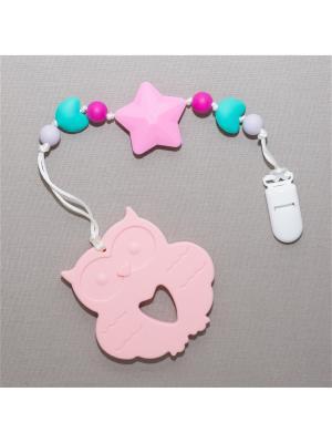 Игрушка-подвеска Краски лета. Цвет: бирюзовый, сиреневый, малиновый, бледно-розовый, розовый