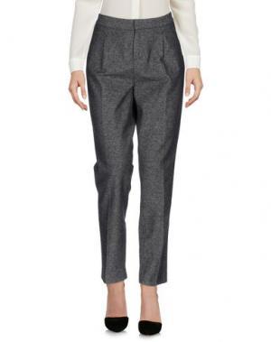 Повседневные брюки ZHELDA. Цвет: свинцово-серый
