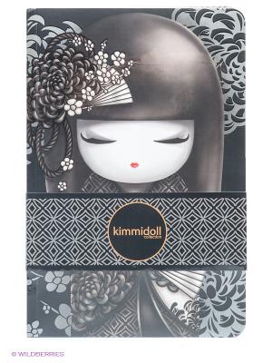 Набор записных книжек Шигеми Kimmidoll. Цвет: темно-серый