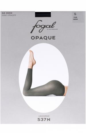 Укороченные леггинсы Fogal. Цвет: темно-синий