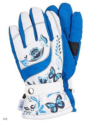 Перчатки Mini. Цвет: темно-синий
