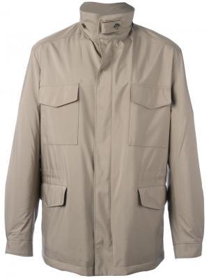 Куртка-ветровка Traveller Loro Piana. Цвет: телесный
