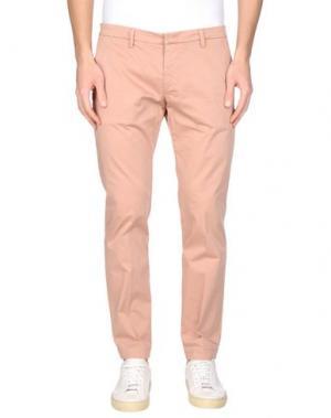 Повседневные брюки MICHAEL COAL. Цвет: телесный