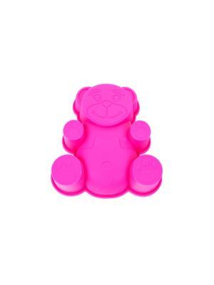 Форма для выпечки силикон Peterhof. Цвет: розовый