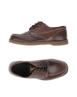 Обувь на шнурках SEBAGO DOCKSIDES. Цвет: какао