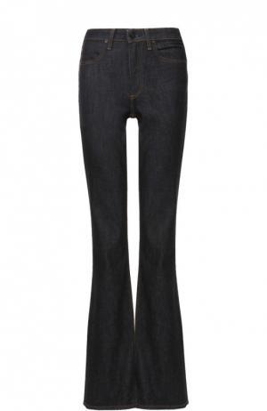 Расклешенные джинсы с завышенной талией Denim X Alexander Wang. Цвет: синий