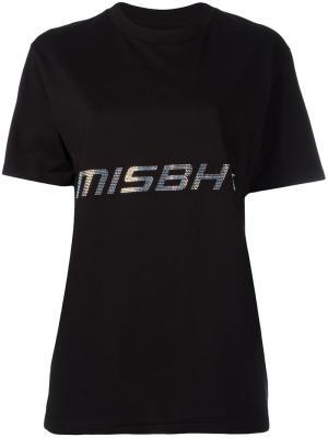 Футболка Techno Misbhv. Цвет: чёрный