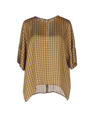 Блузка PIU' &. Цвет: охра