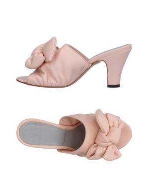 Сандалии PANTOFOLA D'ORO. Цвет: светло-розовый