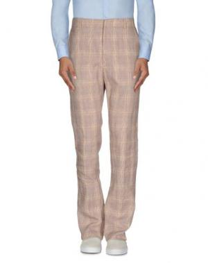 Повседневные брюки DANIELE ALESSANDRINI. Цвет: коричневый
