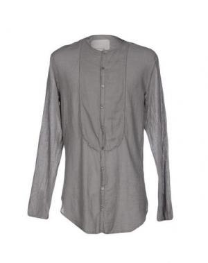Pубашка NOSTRASANTISSIMA. Цвет: серый
