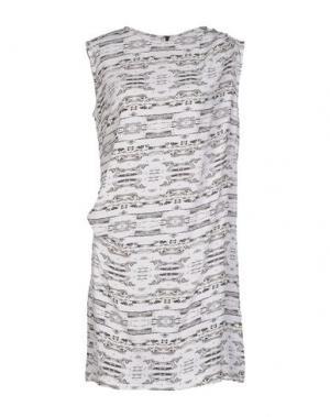 Короткое платье DAGMAR. Цвет: слоновая кость