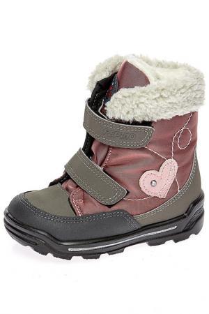 Ботинки Ricosta. Цвет: розовый