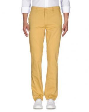 Джинсовые брюки CHEAP MONDAY. Цвет: желтый