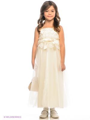 Платье ERKUT. Цвет: бежевый
