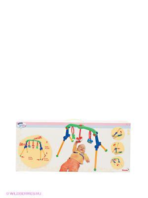 Турник с погремушками, 60 см, 8/8 Simba. Цвет: синий, желтый