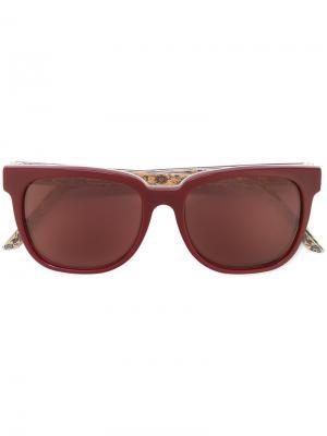 Солнцезащитные очки People Tapestry C Retrosuperfuture. Цвет: красный